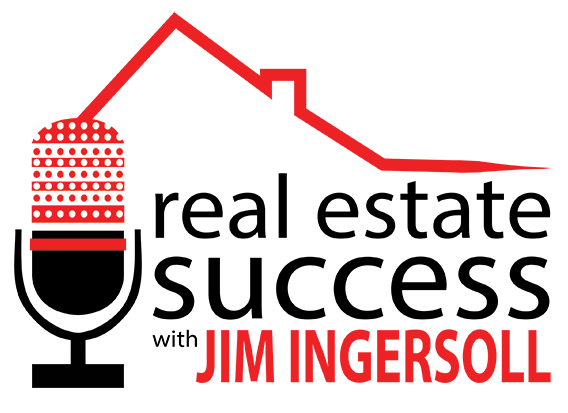 logo for real estate podcast with Jim Ingersoll 2017