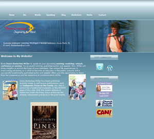 Author Website Custom Design