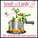 Send Out Card custom button image
