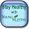 Young Living essential oils custom button image