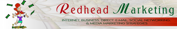 redhead marketing masthead